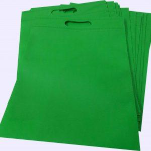 ساک دستی پارچه ای سبز فسفری